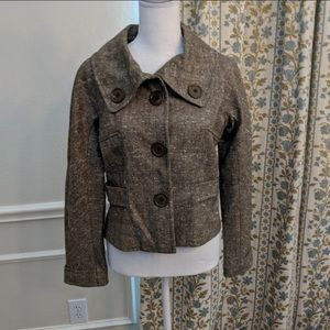 Ecocci Beautiful tweed size 2 blazer Jacket